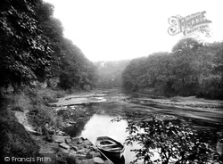 Finchale Priory, River View 1923