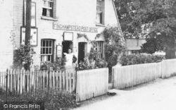 Finchampstead, Post Office 1906