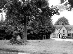 Finchampstead, Queen's Oak Tree c.1955