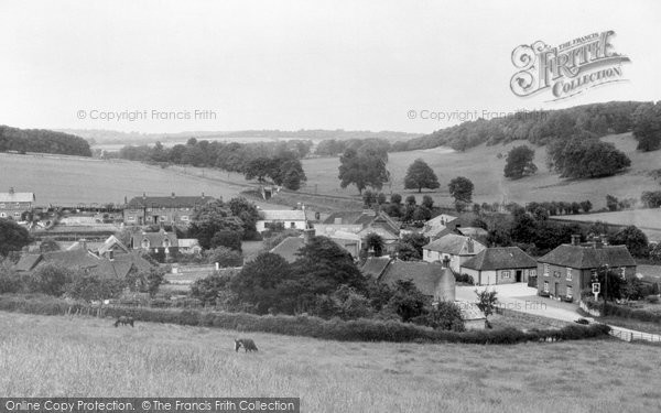 Photo of Finchdean, The Village c.1955