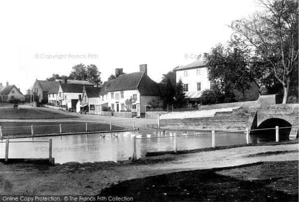 Finchingfield, the Village 1903, Essex.  (Neg. 50569)  © Copyright The Francis Frith Collection 2005. http://www.francisfrith.com
