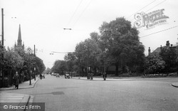 Finchley, Ballards Lane, Church End  c.1955