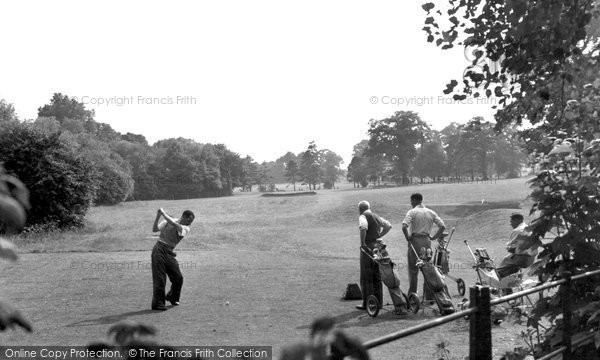 Finchley, Golf Course c.1965