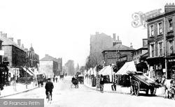 Finchley, High Road c.1890