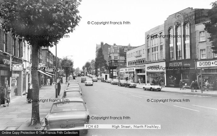 Photo of Finchley, High Street c.1965