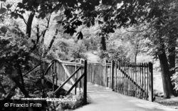 Finchley, Lovers' Walk c.1955