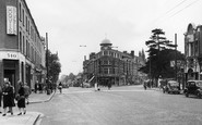 Finchley, Regents Park Road and Hendon Lane c1955