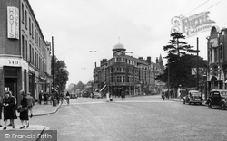 Finchley, Regents Park Road And Hendon Lane c.1955