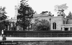 Finchley, St Mary's Church, Church End c.1955