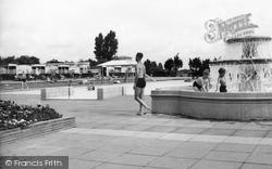 Finchley, Swimming Pool c.1955