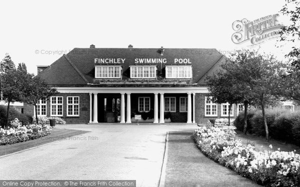 Old historical nostalgic pictures of hendon in barnet greater london yourlocalweb for Open door swimming pool london