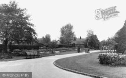 Finchley, Victoria Park, Church End c.1955