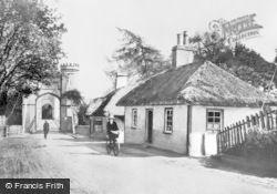Findhorn, The Suspension Bridge c.1920