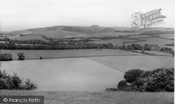 Findon, And Chanctonbury Ring c.1955