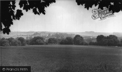 Findon, General View c.1955