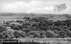 Holy Road And Gallops From Church Hill c.1955, Findon