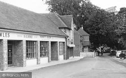 Findon, Nepcote Lane Parade c.1955