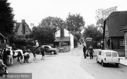 Findon, Post Office Corner 1964