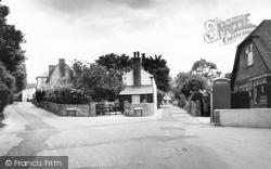 Findon, Post Office Corner c.1955