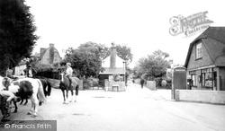 Findon, Post Office Corner c.1960