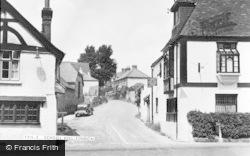 Findon, School Hill c.1955
