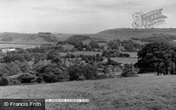 Showing Cissbury Ring c.1955, Findon