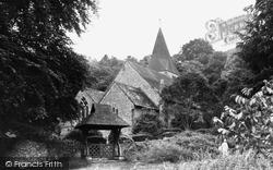 Findon, St John The Baptist's Church c.1953