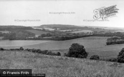 Findon, The Downs c.1955