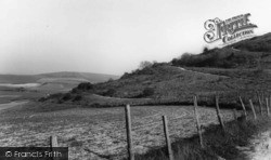 Findon, The Downs c.1960