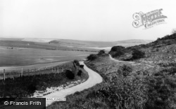 Findon, The Downs c.1965