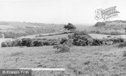 Findon, Valley Looking South c.1955
