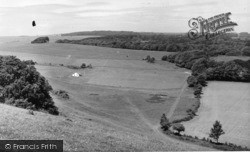 Findon, View Across The Cricket Ground c.1955
