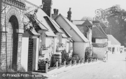 Findon, View From School Hill c.1955