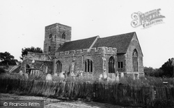 Fingringhoe, St Andrew's Church c.1960