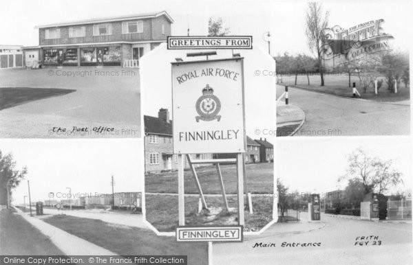 Finningley, Composite c.1955