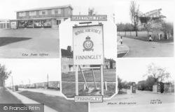 Finningley, Composite c.1955