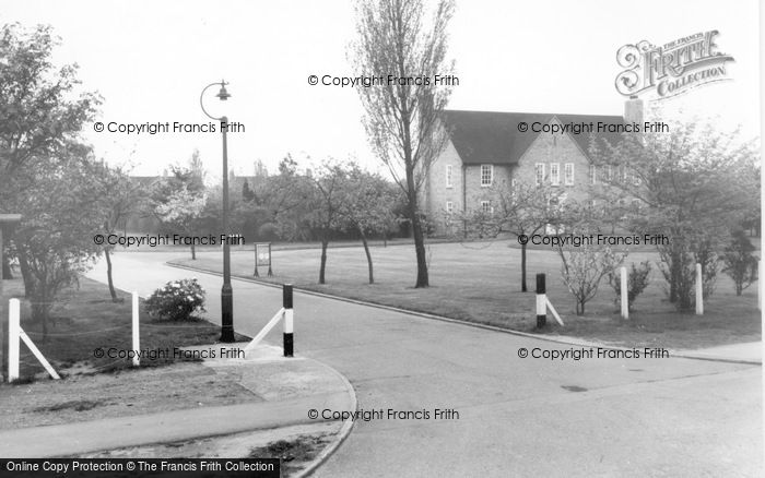 Photo of Finningley, Entrance To C.O's Residence c.1955