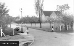 Finningley, Entrance To C.O's Residence c.1955