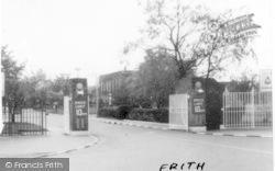 Finningley, Main Entrance, RAF Camp c.1955