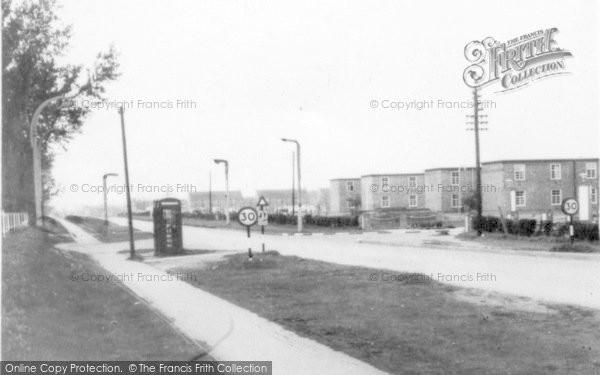 Photo of Finningley, RAF Camp c.1955