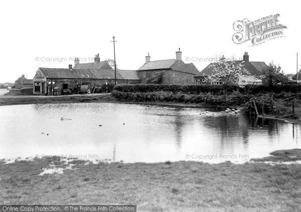Photo of Finningley, The Pond c.1950