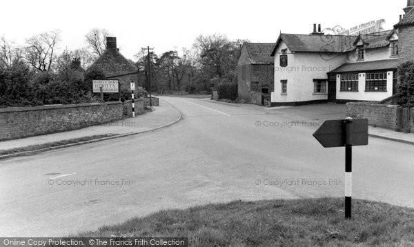 Photo of Finningley, The Village 1951
