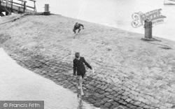 Fishbourne, Boys Playing c.1955