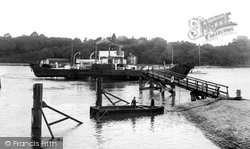 Fishbourne, The Portsmouth Car Ferry c.1955