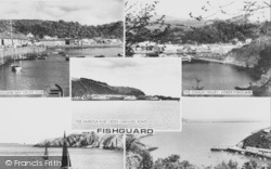 Fishguard, Composite c.1955