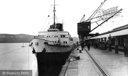 Fishguard, Cross Channel Boat c.1960