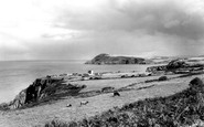 Fishguard, Dinas Head c1960