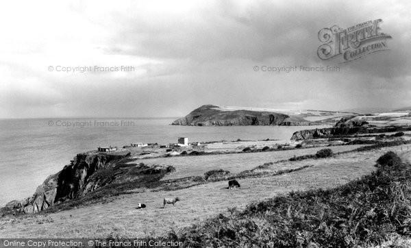 Photo of Fishguard, Dinas Head c1960