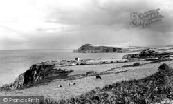 Fishguard, Dinas Head c.1960