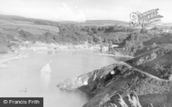 Fishguard, From Pencowrw c.1950